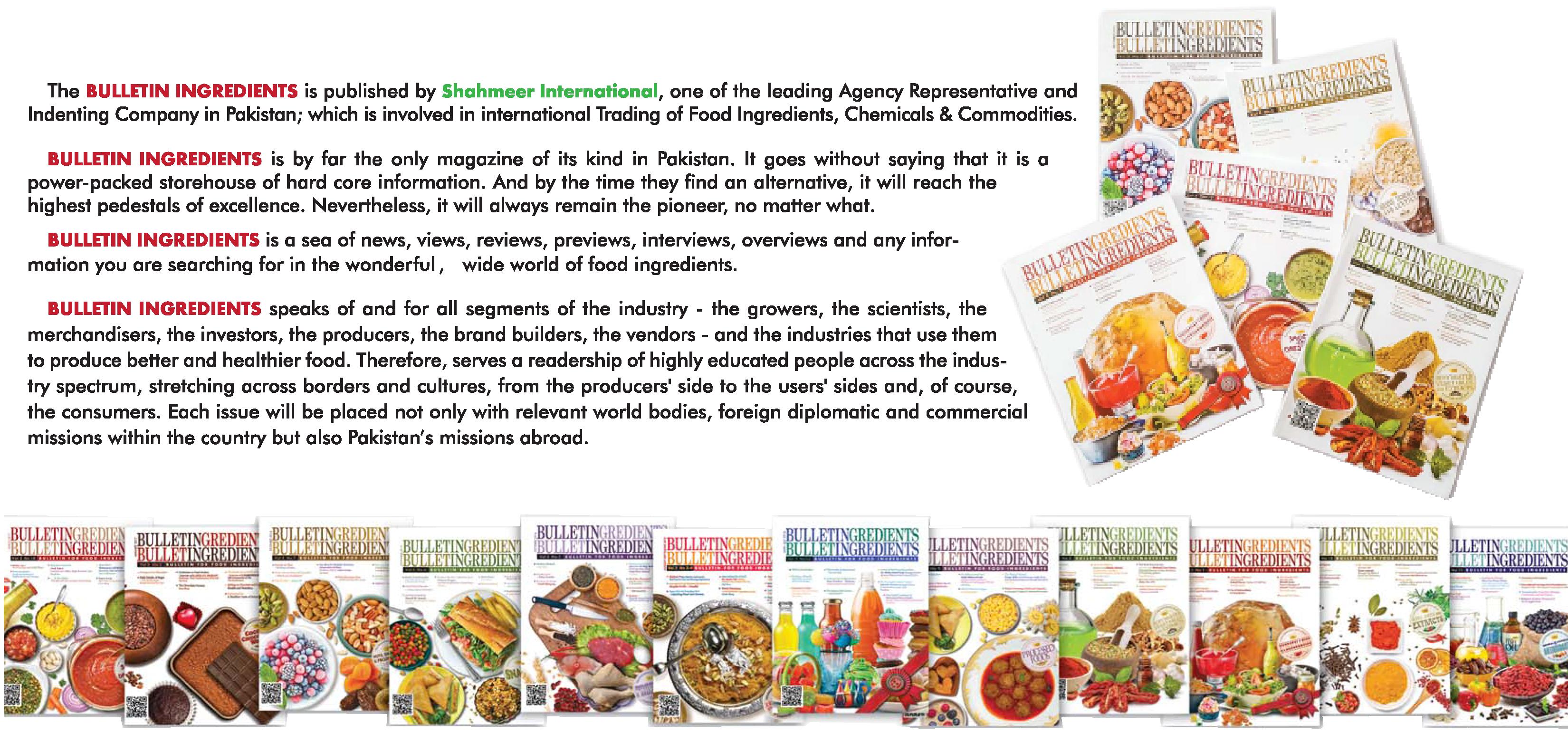 Shahmeer International – Food Ingredients